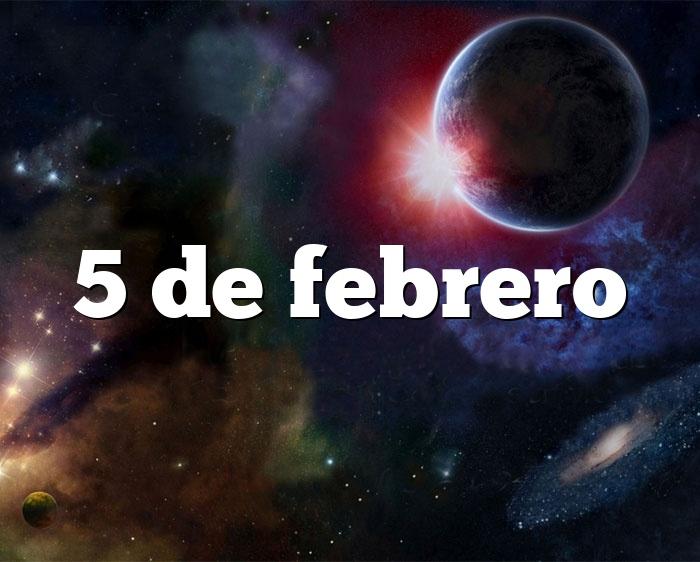 5 de febrero