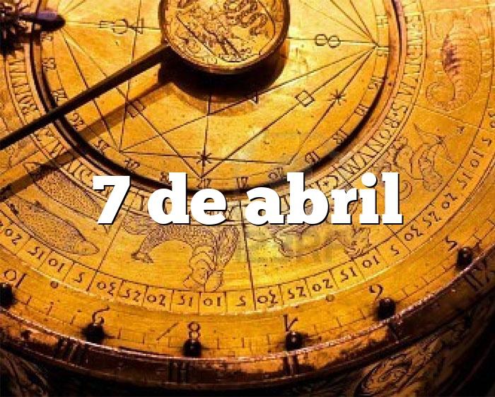7 de abril