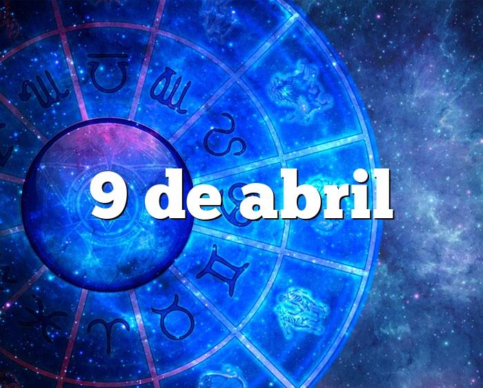 9 de abril