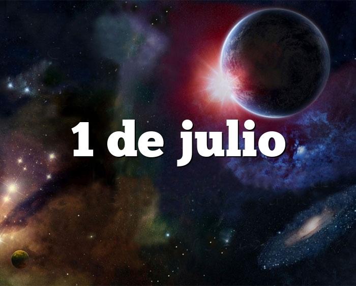 1 de julio