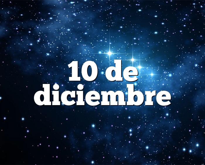 10 de diciembre