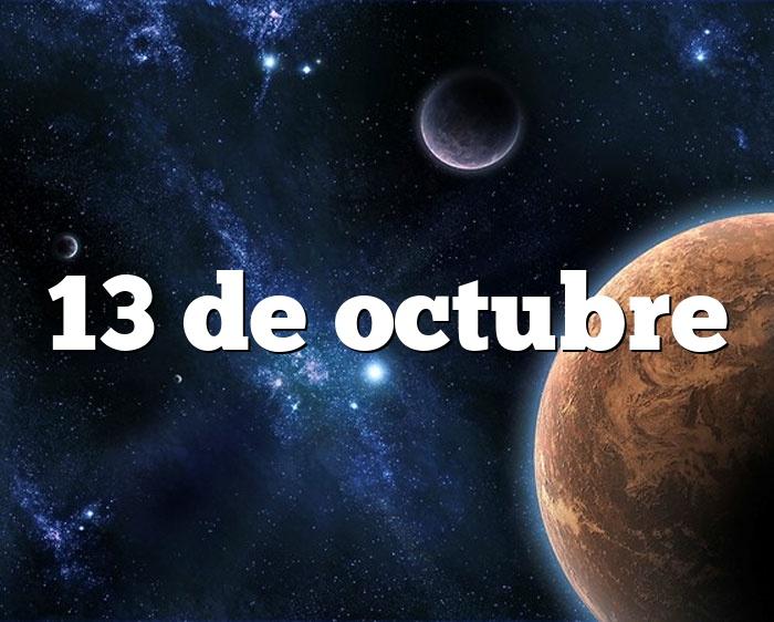 13 de octubre horóscopo y personalidad - 13 de octubre ...
