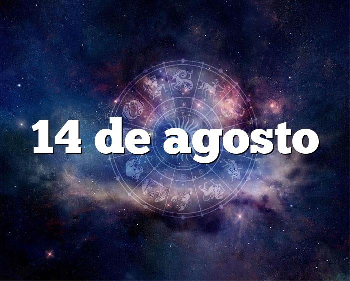 14 de agosto