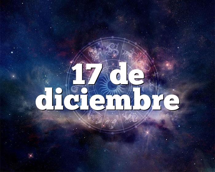 17 de diciembre