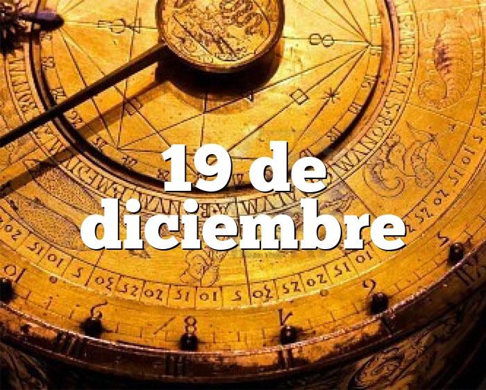 19 de diciembre