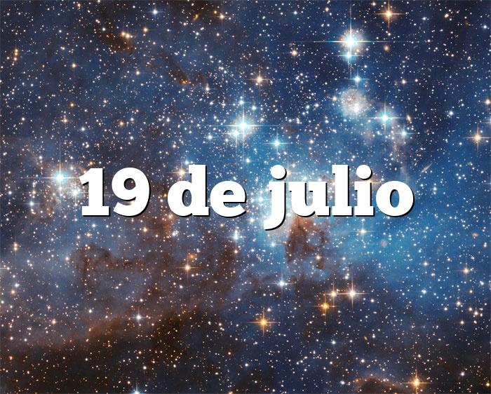 19 de julio