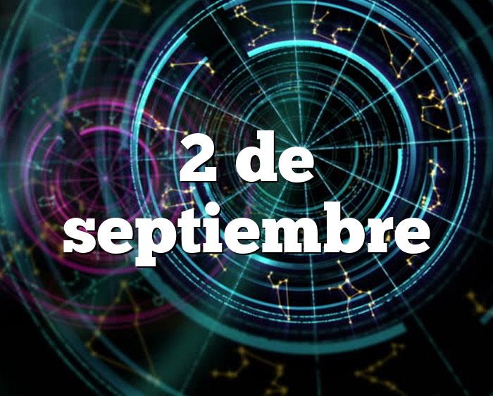2 de septiembre