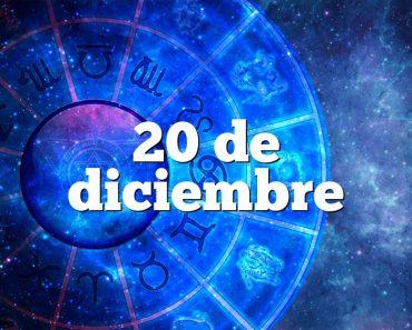 20 de diciembre