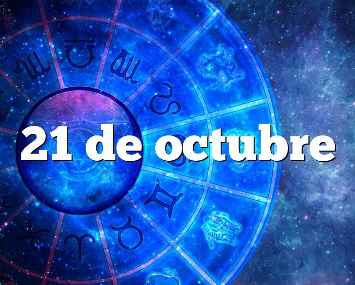 21 de octubre
