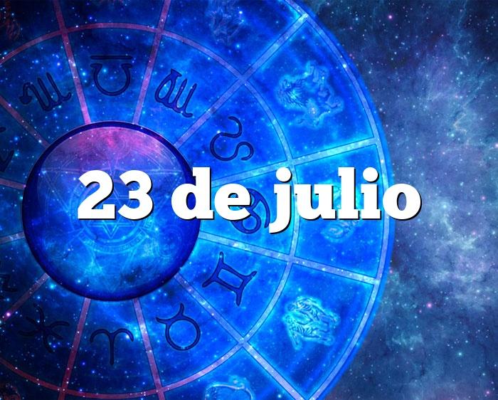 23 de julio
