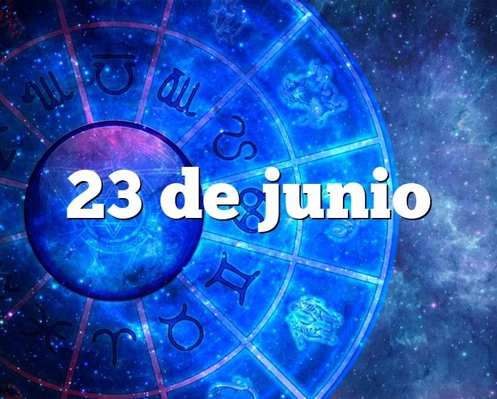 23 de junio