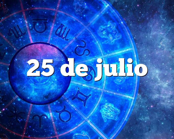25 de julio