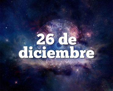 26 de diciembre