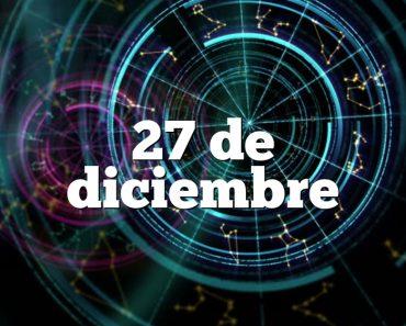 27 de diciembre