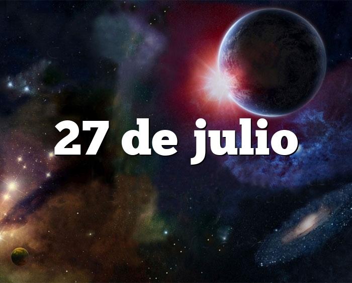 27 de julio