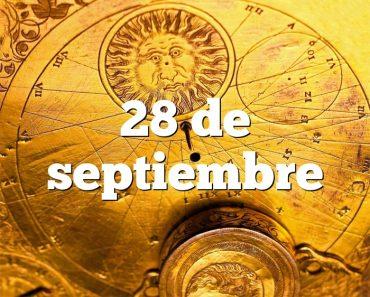 28 de septiembre