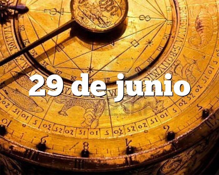 29 de junio