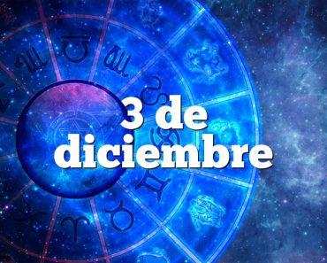 3 de diciembre