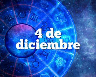 4 de diciembre