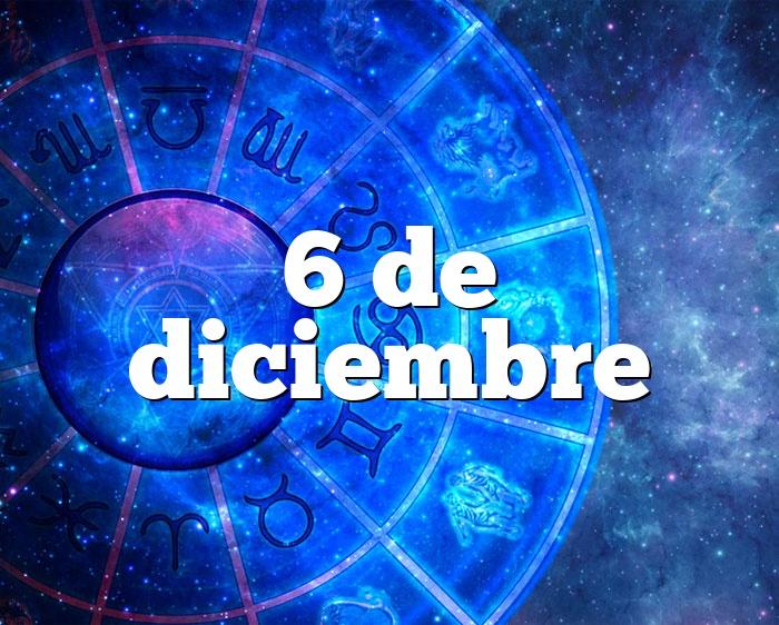 6 de diciembre