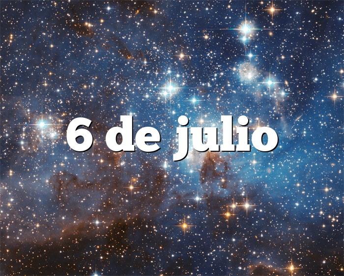 6 de julio