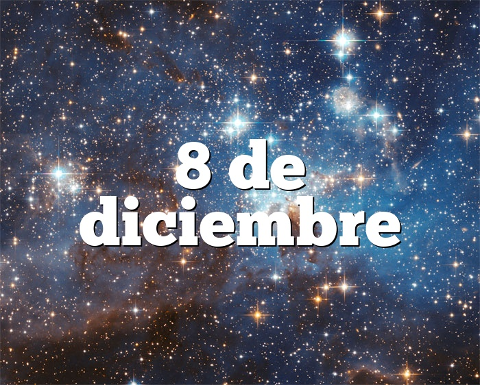 8 de diciembre