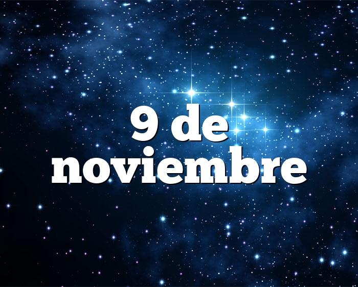 9 de noviembre