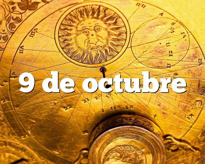 9 de octubre