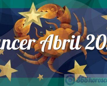 Cáncer Abril 2022