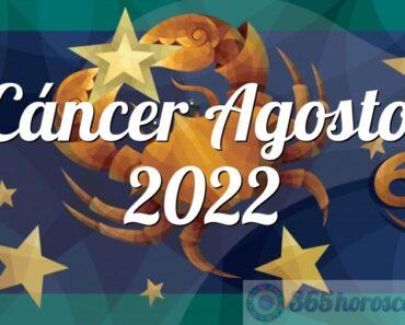 Cáncer Agosto 2022