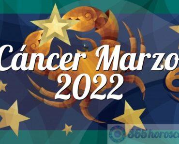Cáncer Marzo 2022