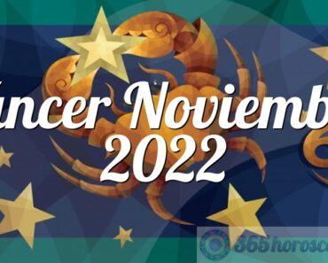 Cáncer Noviembre 2022