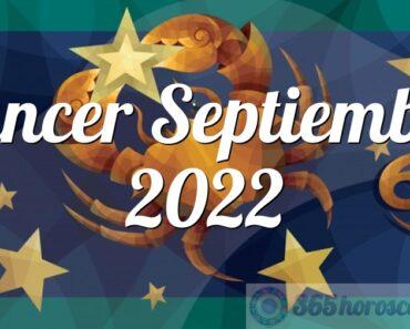 Cáncer Septiembre 2022