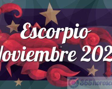 Escorpio Noviembre 2022