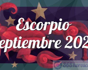 Escorpio Septiembre 2022
