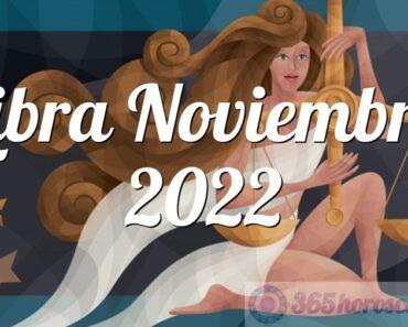 Libra Noviembre 2022