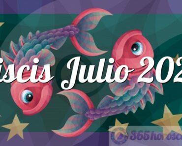 Piscis Julio 2022
