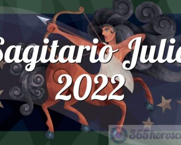 Sagitario Julio 2022