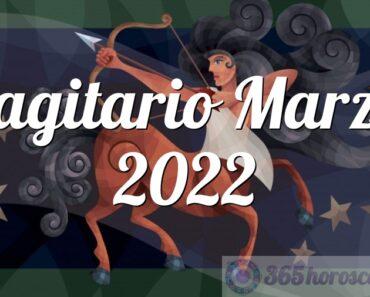 Sagitario Marzo 2022