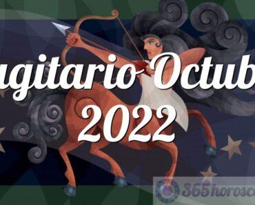 Sagitario Octubre 2022